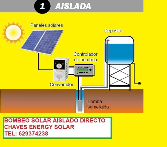 PLACAS SOLARES PARA RIEGO Y BOMBEO SOLAR - foto 1