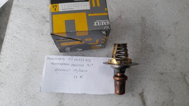 Termostato con calefacción puerto para Claas//renault piezas ref 6005000004 nr