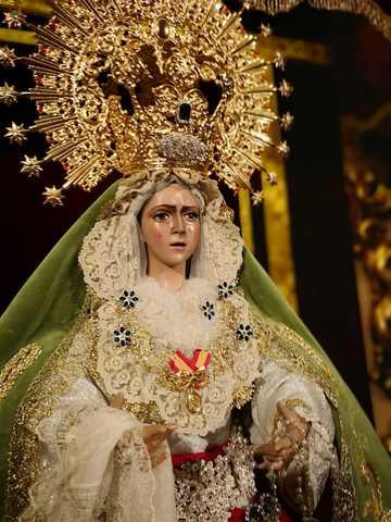 Mil Anuncios Com Virgen Esperanza Macarena 1 05 M 80cm 50