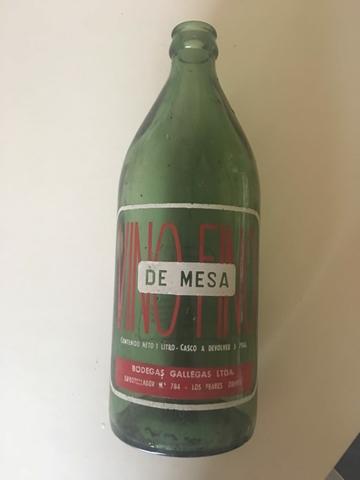 Botellas Antiguas Bodegas Gallegas
