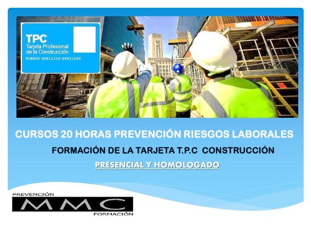 CURSO 20H RIESGOS LABORALES CONSTRUCCION - foto 2