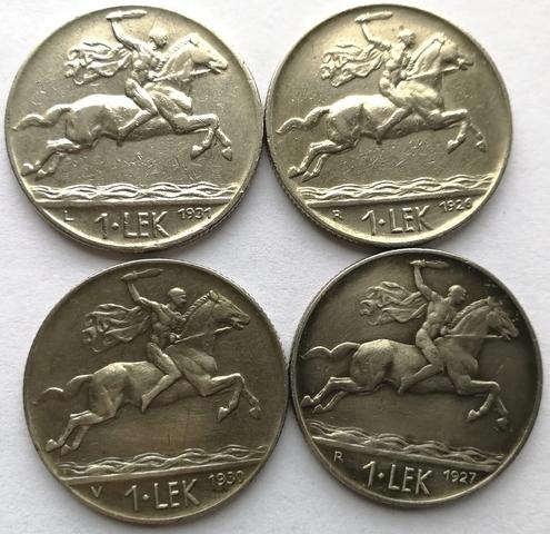 Monedas De 1 Leke Albania