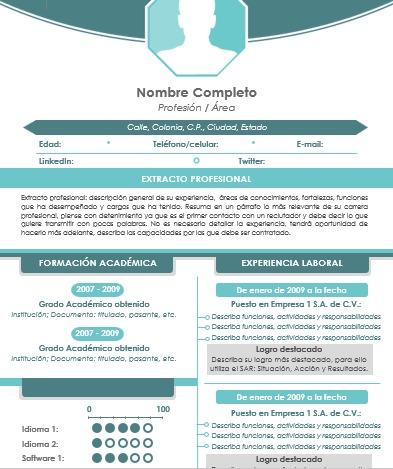 QUIERES UN CV EN INGLÉS O ESPAÑOL - foto 1