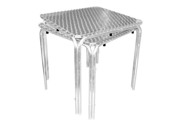 Mesas Acero Aluminio Terraza