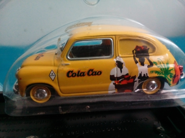 Seat 600 Public. Cola-Cao, Esc. 1/43