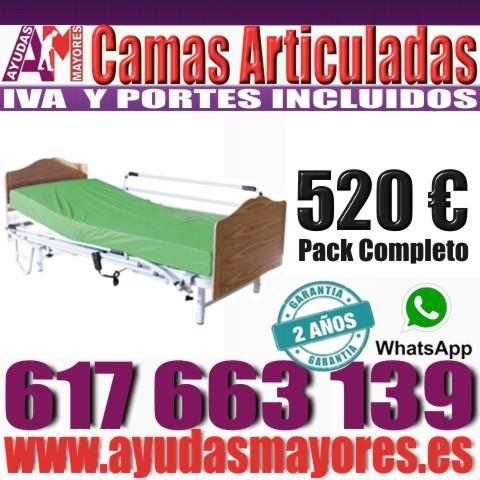SOMIER ARTICULADO - CAMAS ELÉCTRICAS - foto 3