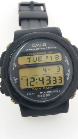 Reloj Casio Dbw-32, Modulo 838 Japan