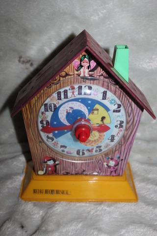 Juguete Antiguo Reloj Hacha Musical Rico