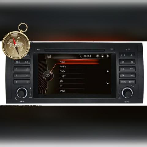 RADIO GPS PANTALLA BMW E39 E53 X5 M5 - foto 1