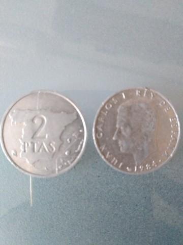 Vendo Moneda De  2 Ptas De 1984 Y 1982