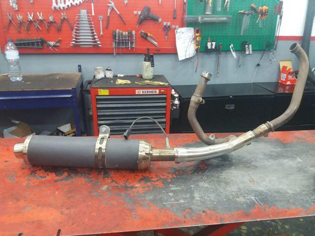 TUBO ESCAPE HYOSUNG GT 650 RI COMET - foto 1