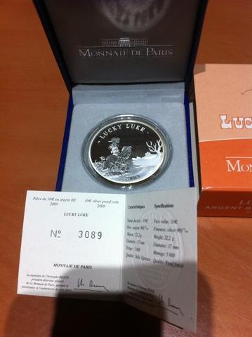 Moneda De Plata Lucky Luke