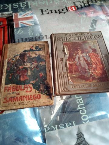 2 Libros Antiguos Lote ,Callejas,Alarcon