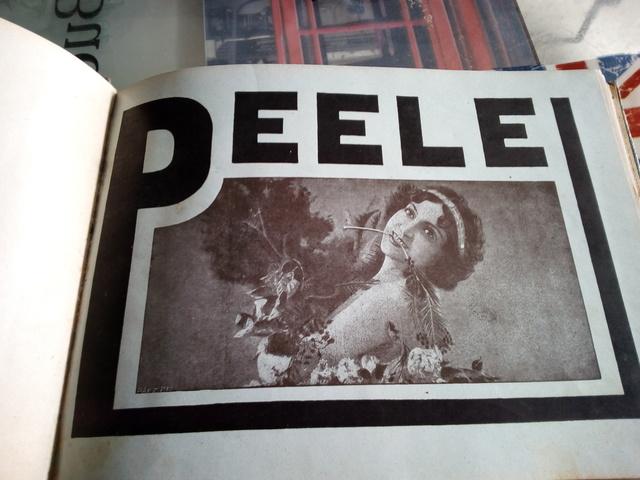 Antiguedades,Catalogo Peele Madrid 1917