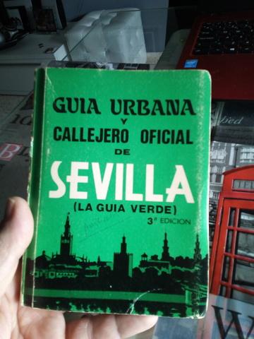 2 Antiguos  Callejeros  De Sevilla 1985