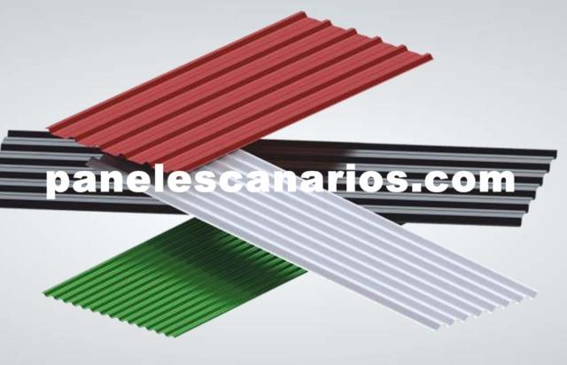 Chapa Aluminio Perfilada Canarias