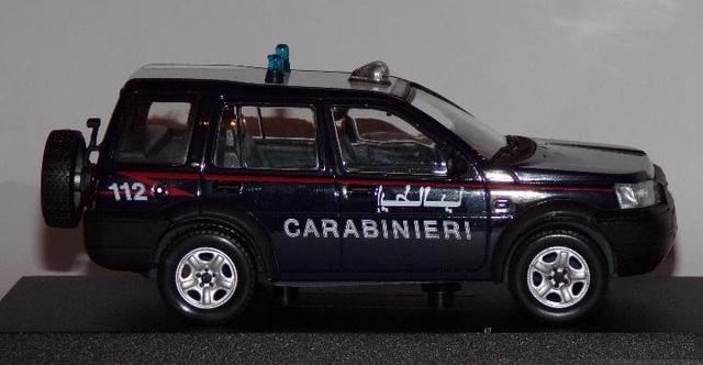 Land Rover Freelander Policia Carabineri