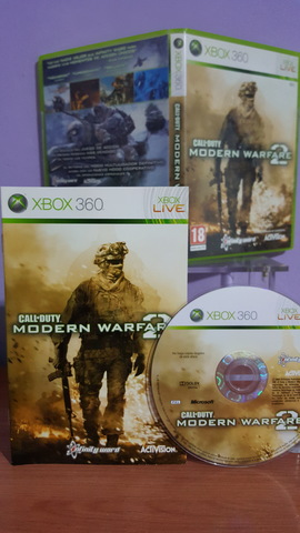 CALL OF DUTY MODERN WARFARE 2 XBOX 360, usado segunda mano  Cullera