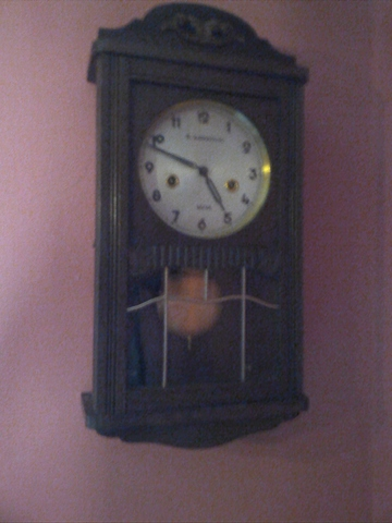 Reloj Antiguo De Pendola O Pared