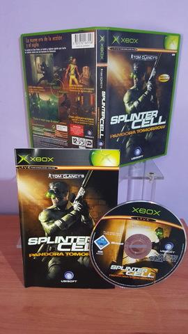 Usado, SPLINTER CELL PANDORA TOMORROW XBOX segunda mano  Cullera