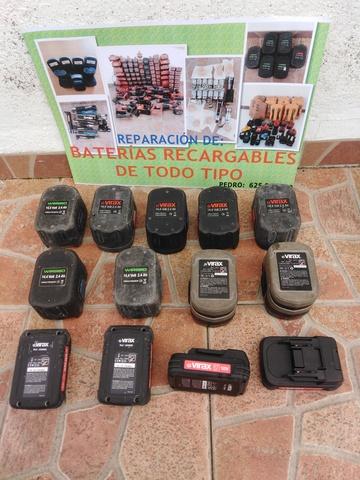 Reparacion Baterias Virax Toledo