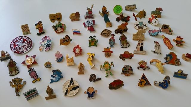 Pins Años 80-90