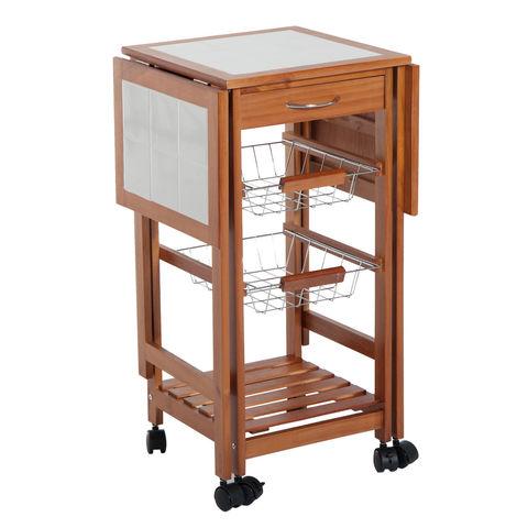 MIL ANUNCIOS.COM - Mesa madera auxiliar cocina modelo 3