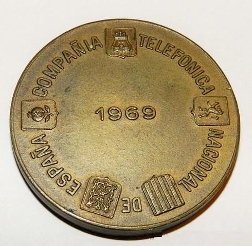 Medallas Compañía Telefónica (Ctne)