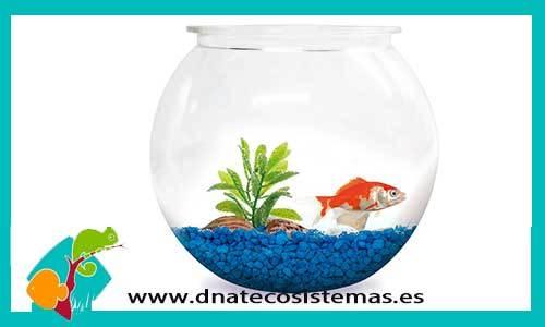 PECERA GOLD FISH 8LTS.  PLASTICO - foto 1