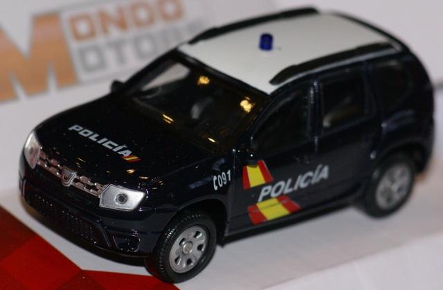 Dacia Duster Policia Nacional Escala 1:4