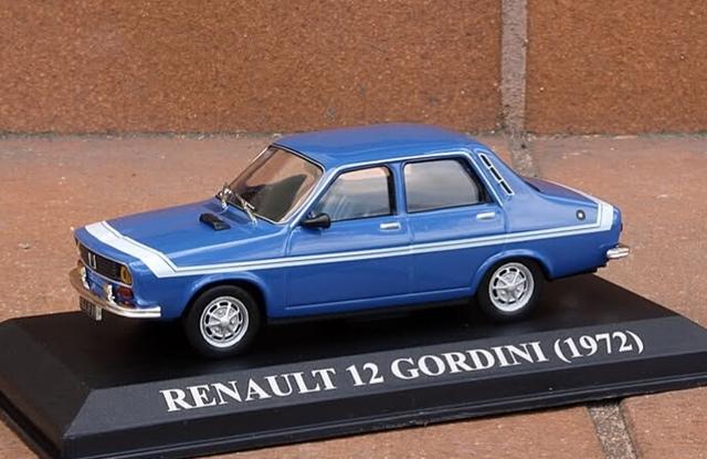 Renault 12 Gordini Azul 1972 1:43 Altaya