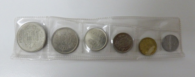 Monedas Año 1975