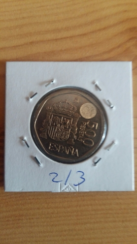Moneda De La Última Emisión De 500 Ptas: