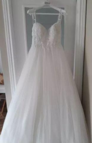 Vestido De Novia Blanco Alma Novia