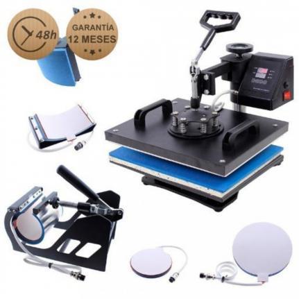 Transición 5en1 Digital prensa de calor prensa de calor sublimación de camiseta