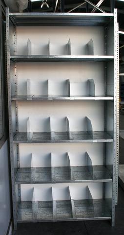 Separadores Para Estanterias Metalicas.Estanteria Metalica Con Separadores
