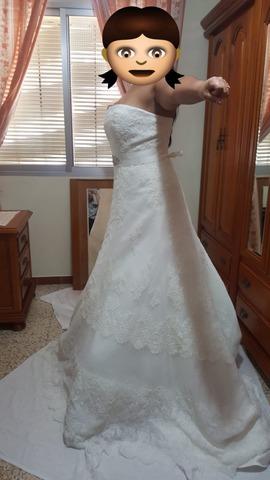 83cf5b1879e MIL ANUNCIOS.COM - Vestido de novia la sposa modelo maxim