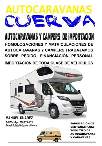 IMPORTADOR DE AUTOCARAVANAS Y CAMPERS - foto 1