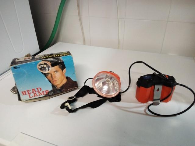 Linterna Vintage Para Cabeza Años 90