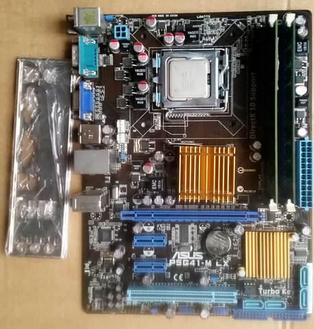 PLACA 775 ASUS  P5G41-MLX - foto 3