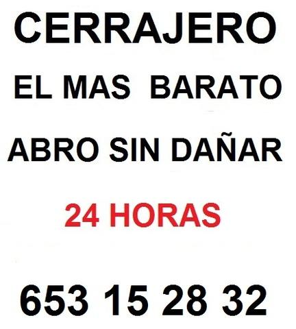CERRAJERO BARATO 24 HORAS 653 15 28 32 - foto 1