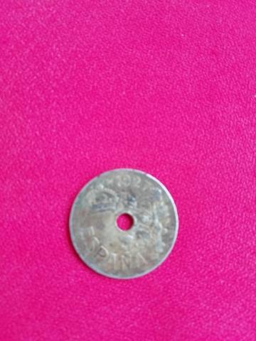 Moneda De 25 Ctms.1ªrepública.1.927