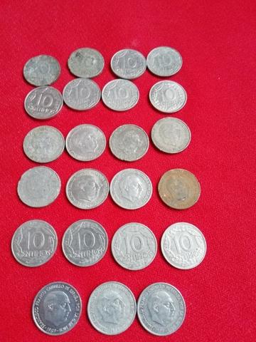 Monedas De 10 Ctms De Franco