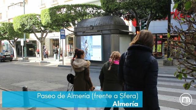 PUBLICIDAD PANTALLA LED PASEO DE ALMERIA - foto 1