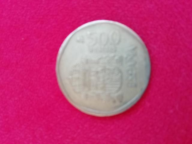 Moneda De 500Ptas. Rey Año 1.989