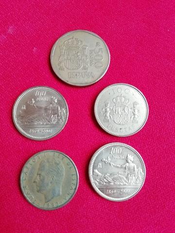 Monedas De 100Ptas. Rey