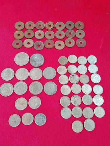 Monedas De 5 Ptas. Rey Grandes.