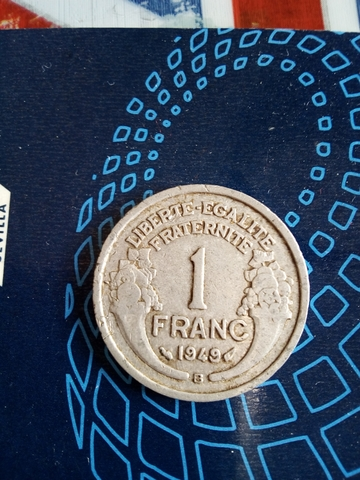 Moneda 1 Franco Frances 1949