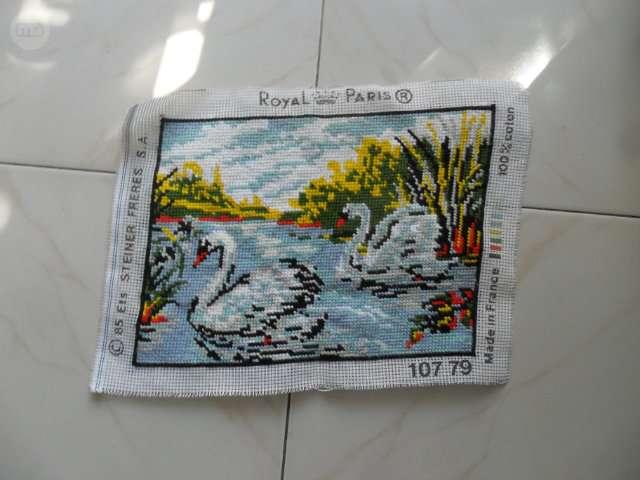 Royal Paris Tapiz//Kit de bordado-Lago De Los Cisnes