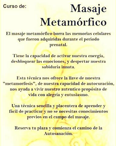 TALLER DE MASAJE METAFÓRICO - foto 1